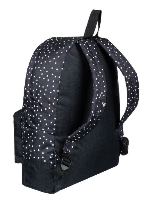 ROXY WOMENS BACKPACK BAG.SUGAR BABY BLACK SPOTTY SPOTTED RUCKSACK 16L 8W 29  KVJ8 26ab2413d3997